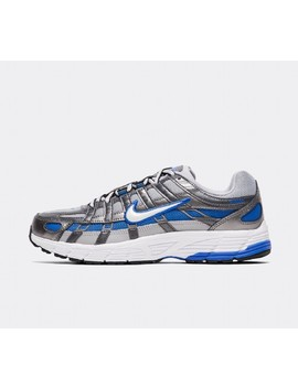 Womens P 6000 Trainer   Wolf Grey / White / Game Royal by Nike