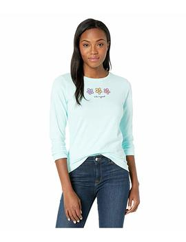Three Daises Long Sleeve Crusher™ Tee by Life Is Good