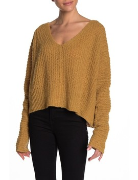 Moonbeam V Neck Sweater by Free People
