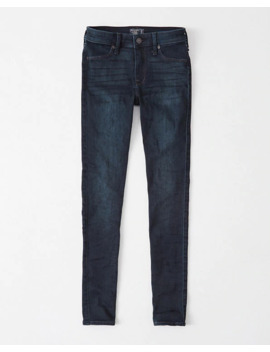 Mid Rise Super Skinny Jean Leggings by Abercrombie & Fitch
