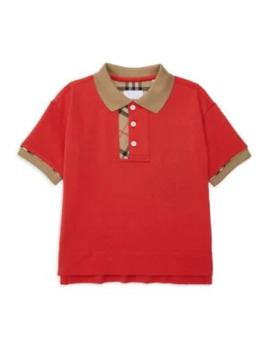 Little Boy's & Boy's Kb5 Archie Polo by Burberry