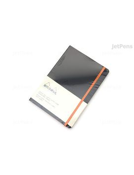 Rhodia Rhodiarama Softcover Notebook   A5   Lined   Black by Rhodia