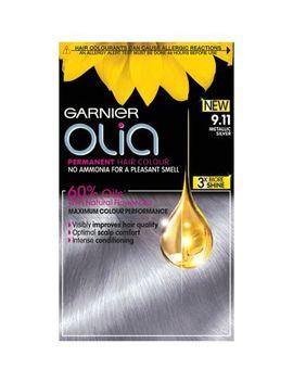 Garnier Olia 9.11 Metallic Silver Permanent Hair Dye by Garnier