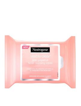Neutrogena Pink Grapefruit Medicated Facial 25 Wipes by Neutrogena