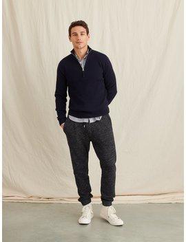 Merino Half Zip Sweater by Alex Mill