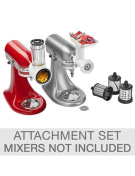 Kitchen Aid Attachment Food Prep Set by Costco
