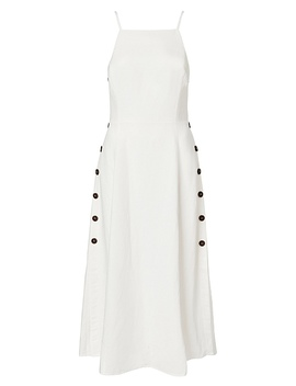 Button Detail Dress by Witchery