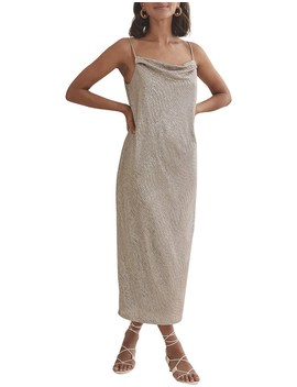 Metallic Slip Dress by Country Road