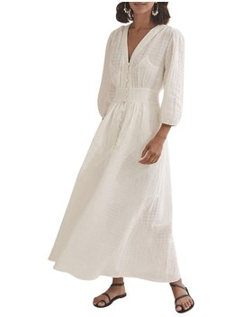 Puff Sleeve Dress by Country Road
