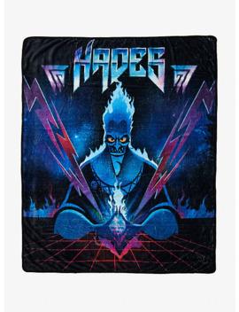 Disney Hercules Hades Metal Throw Blanket by Hot Topic