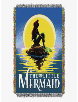 Disney The Little Mermaid Ariel Poster Tapestry Throw by Hot Topic