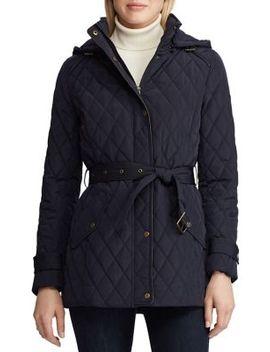 Quilted Hooded Jacket by Lauren Ralph Lauren