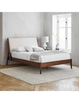 Wright Upholstered Bed by West Elm