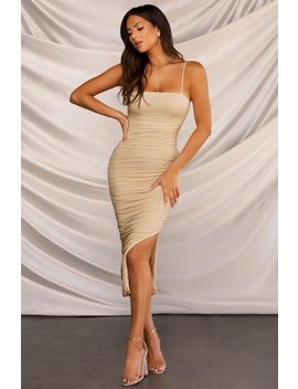 It's All Love Dress   Nude by Miss Lola