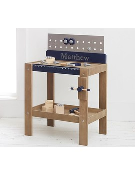 Personalized Woodwork Bench by Pottery Barn Kids