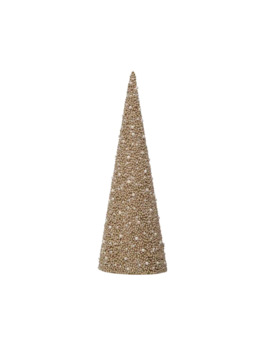 "19.25"" Champagne Tabletop Cone Tree By Ashland® by Ashland"