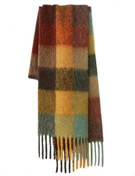 'isabella' Soft Plaid Scarf (4 Colors) by Goodnight Macaroon