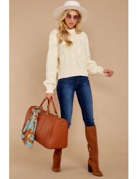 Cozy For You Ivory Sweater by Etophe Studios