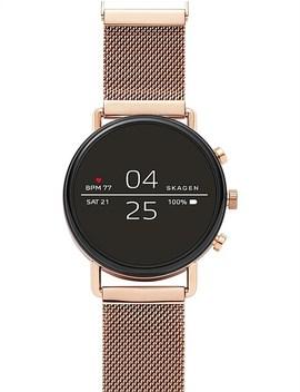 Skagen Falster Rose Gold Tone Smartwatch by Skagen