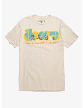 The Doors Waiting For The Sun Tracklist T Shirt by Hot Topic