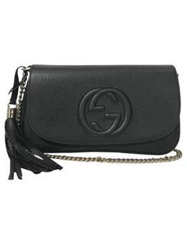 Soho New 536224 Black Leather Cross Body Bag by Gucci