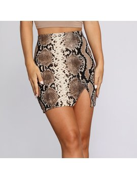 Sleek And Sassy Mini Skirt by Windsor