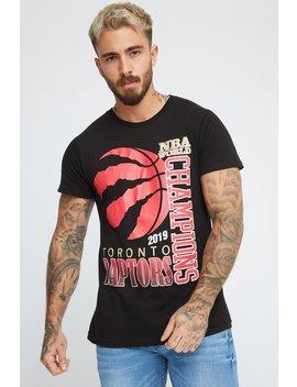 Toronto Raptors Nba Champions Graphic T Shirt by Urban Planet