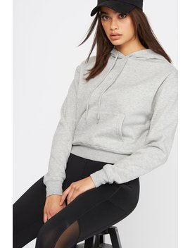 Perfect Crop Hoodie by Urban Planet
