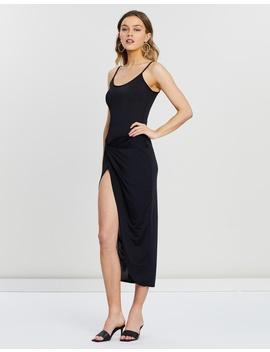 Slinky Cami Twist Body Con Midaxi Dress by Missguided
