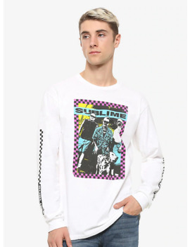 Sublime Checkered Long Sleeve T Shirt by Hot Topic