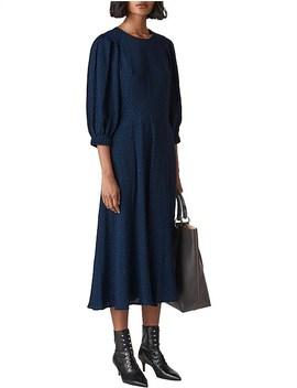 Fay Animal Jacquard Midi Dress by Whistles