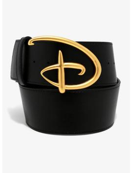 Buckle Down Disney Logo Belt by Her Universe