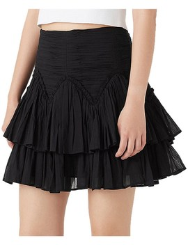 Mimosa Frill Mini Skirt by Aje