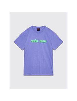 Très Bien Souvenir T Shirt Chubby Font Purple by Très Bien