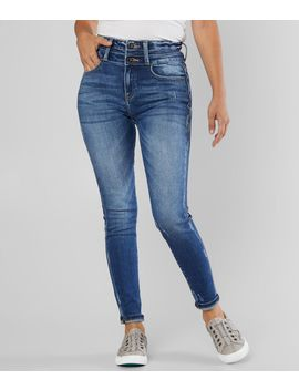 Signature Kurvy Ultra High Rise Ankle Jean by Kan Can
