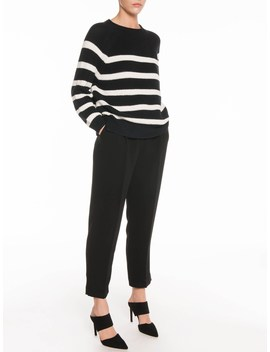 Chunky Stripe Sweater by Veronika Maine