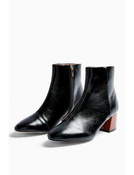 Birch Black Block Boots by Topshop