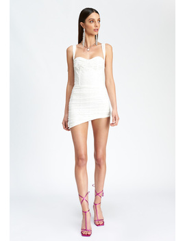 Senorita Mini Dress – White by Lioness Fashion