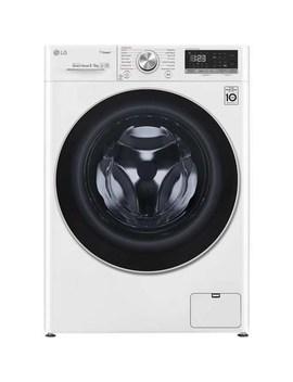 Lg Fwv585 Ws 8kg Wash 5kg 1400rpm Dry Ai Dd Freestanding Washing Machine With Steam & Smart Thinq   White by Lg