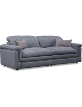 Revel 2 Piece Dual Power Reclining Sofa by Value City Furniture