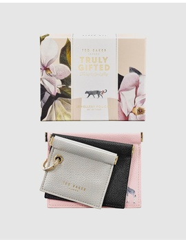 Jewellery Pouch Trio by Ted Baker