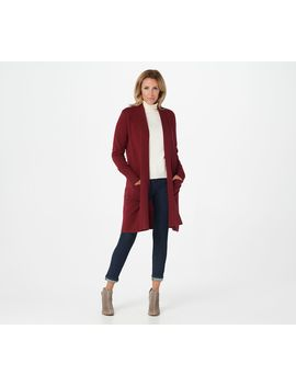 Soft By Naadam 100% Cashmere Shawl Collar Duster Cardigan by Soft By Naadam