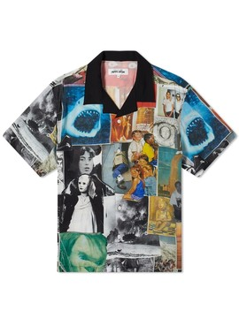Fucking Awesome Collage 2 Rayon Club Shirt by Fucking Awesome