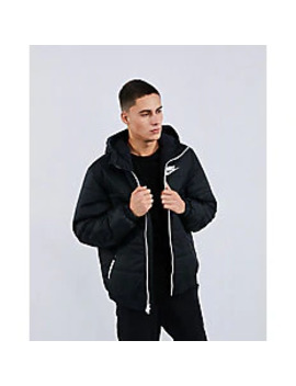Nike Synthetic Hooded   Men Jackets by Nike