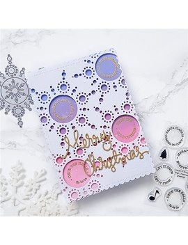 Christmas Snowflake Metal Cutting Dies Craft Dies Scrapbooking Photo Die Cut Embossing Cutter Decoration  by Wish