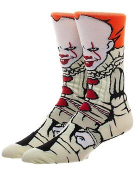 It Pennywise | 360 Character Crew Socks by Bioworld