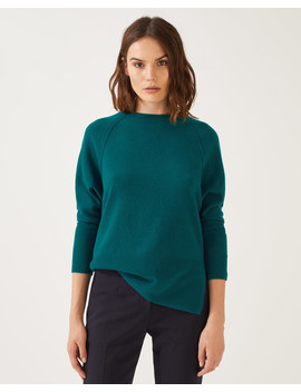 Button Back Batwing Jumper by Jigsaw