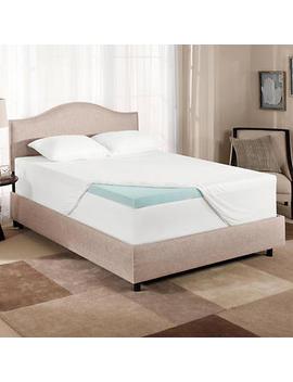Novaform Comfort Luxe Gel Memory Foam Mattress Topper by Costco