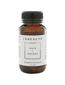 Hair + Energy Formula 60 Capsules by Jshealth