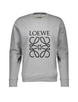 Sweatshirt En Coton Anagram by Loewe